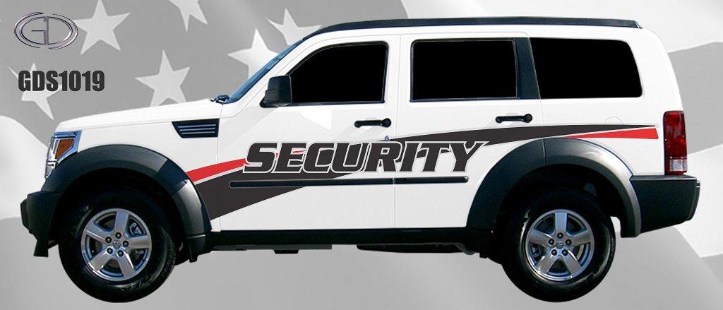 gdi security car graphic design