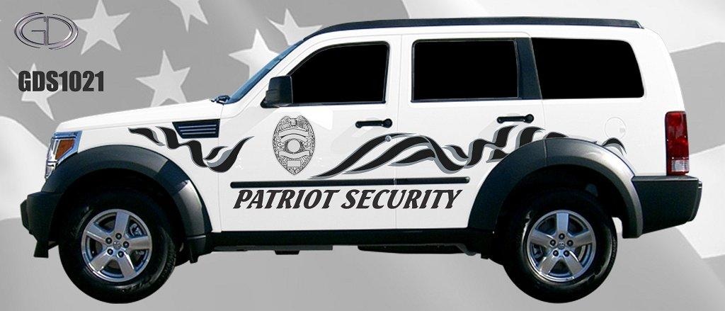 gdi patriot security graphic design