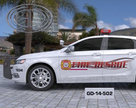 gdi sketch fire rescue car design