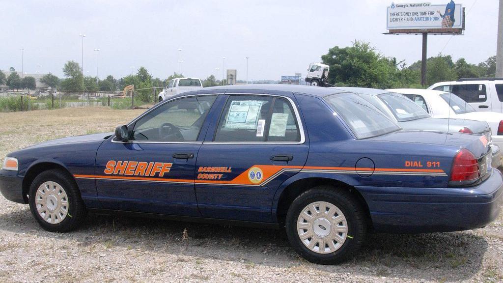 sheriff graphic design blue