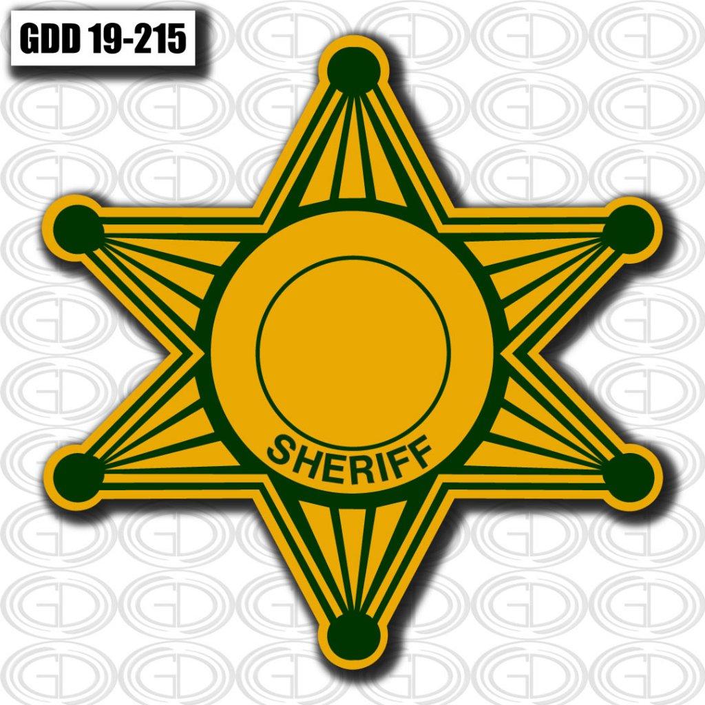 star sheriff logo design made by gdi