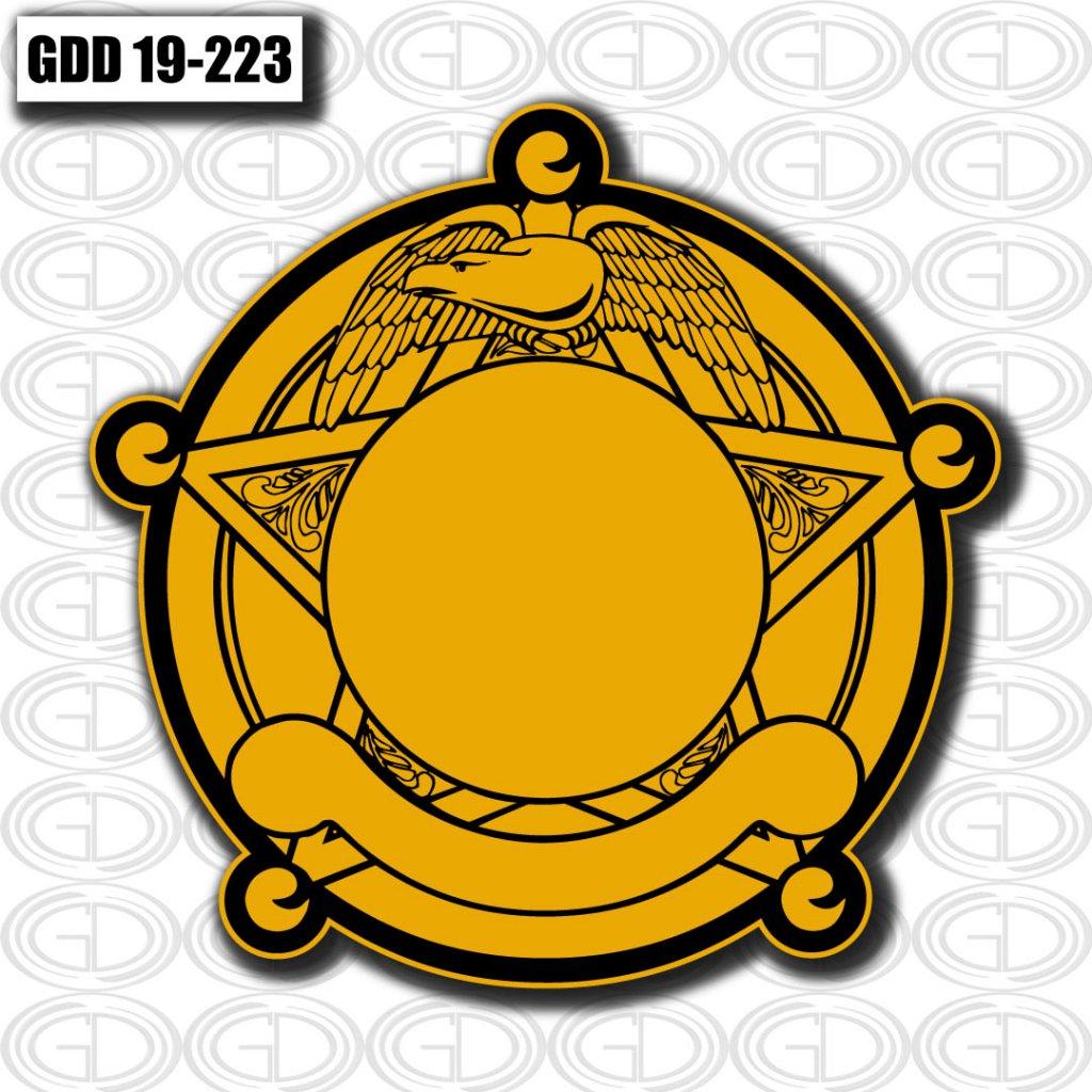 yellow bird and star graphic logo design