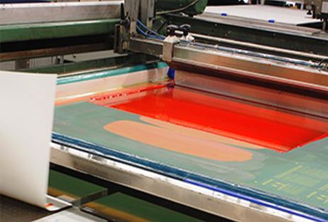 image of a screed printed machine