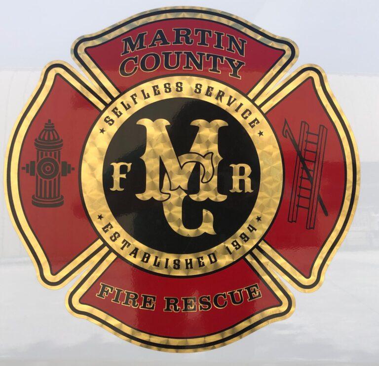 martin county screen printed photo on vehicle
